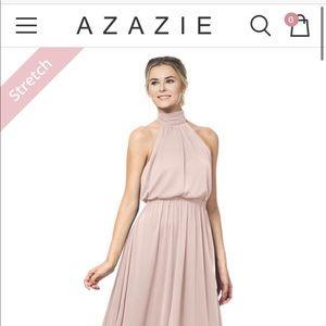 Azazie Landry Dusty Rose bridesmaid dress
